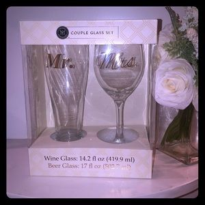 Other - Couple Glass Set